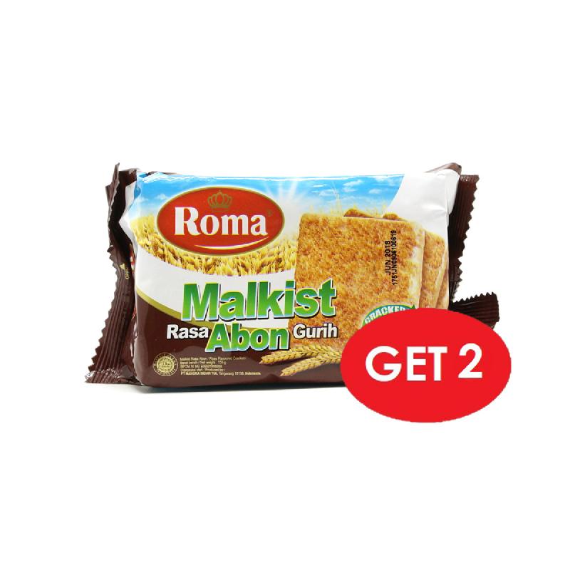 Roma Malkist Abon Crackers 145 Gr (Get 2)