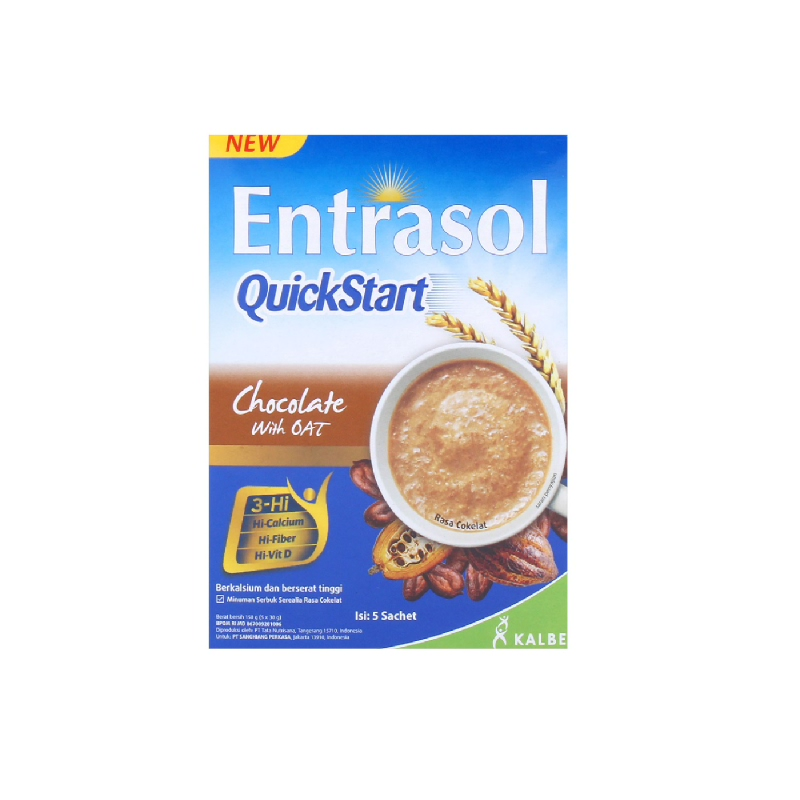 Entrasol Quickstart Chocolate [5X30G]