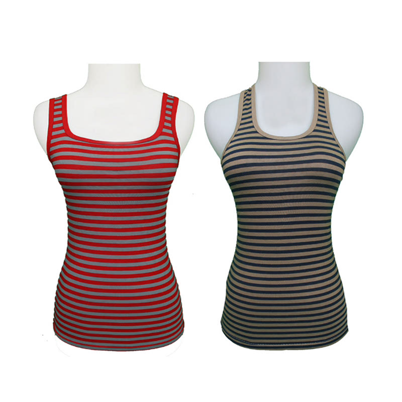 Gudang Fashion Tank Top Lucu Red TNP 66 & Tanktops Wanita Grey TNP 97