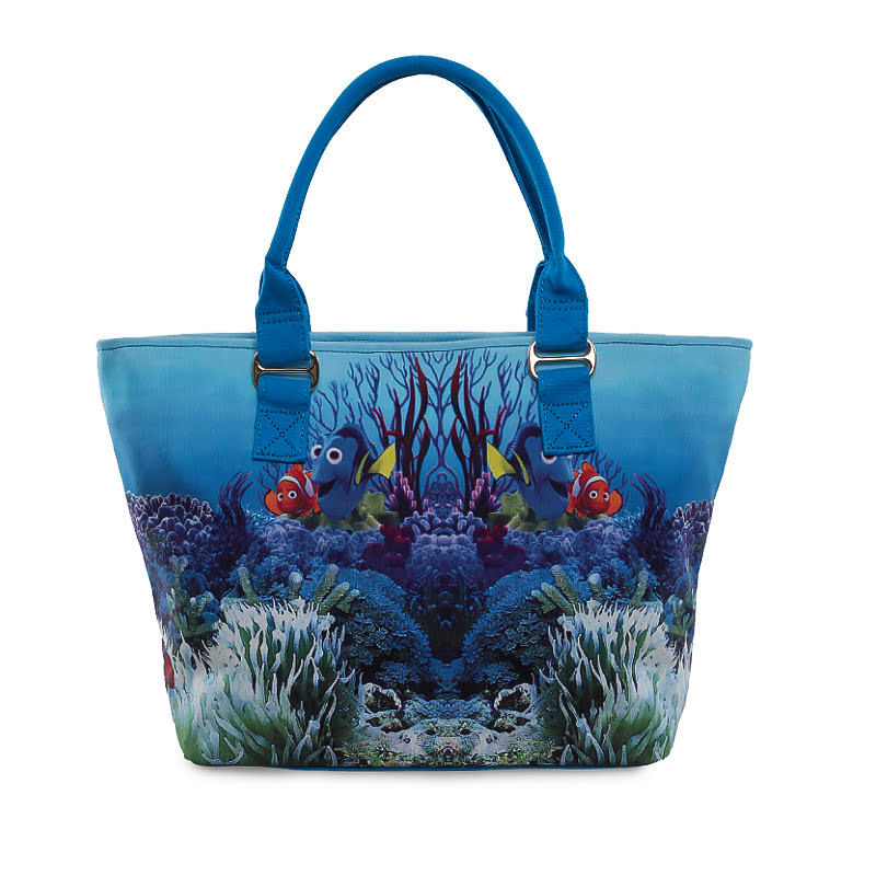 Reddington Tote Bag LZ-10 Multicolor Blue