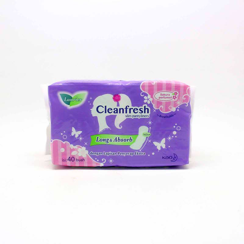 LAURIER PANTYLINER SAFETY  FIT PARFUM 40S