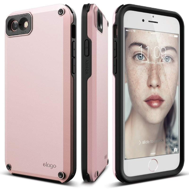 Elago Amore Case for iPhone 7, 8 - Lovely Pink