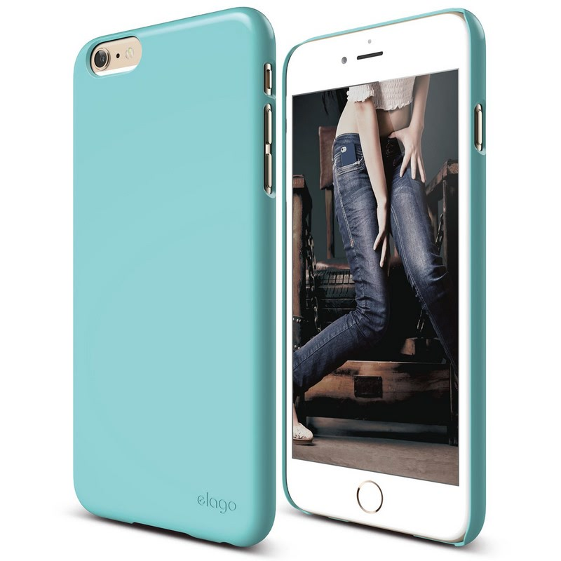 Elago Slimfit 2 Case for iPhone 6 Plus - Coral Blue (Gloss)