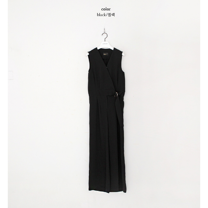 Modern Chic Jumpsuit Black