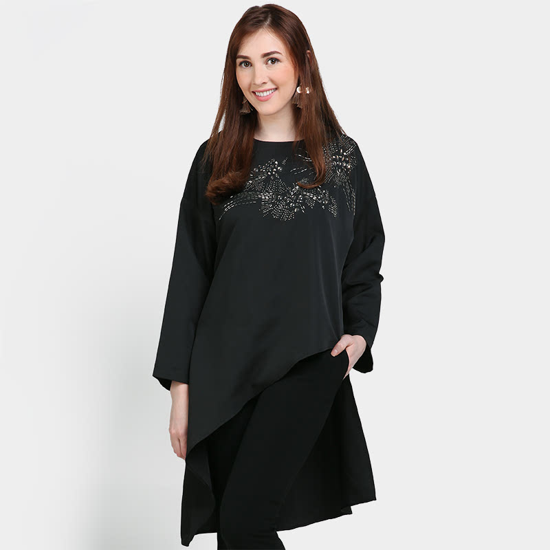 Hope Erdem Top Black
