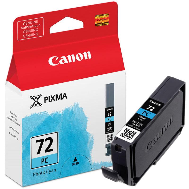 Canon Ink Cartridge PGI-72 Photo Cyan for Pro-10