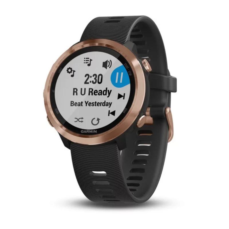 Garmin smartwatch FR 645 Music black with rose gold hardware