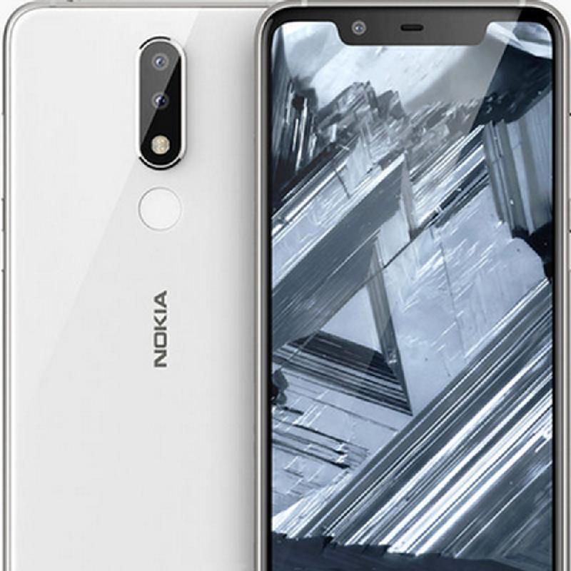 Nokia 5.1 Plus (3 GB-32GB) White