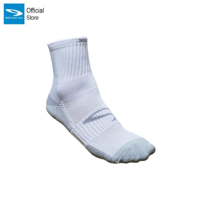 910 Nineten Saga Kaos Kaki Panjang Socks Quarter Putih