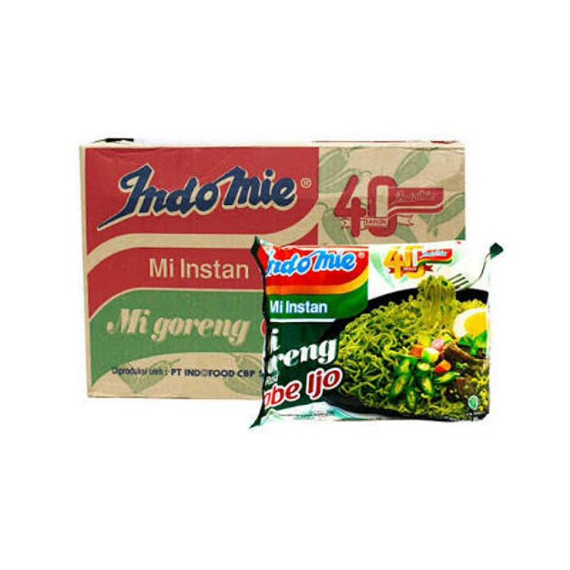 Indomie Mie Instant Goreng Cabe Ijo 85G (1 Karton)