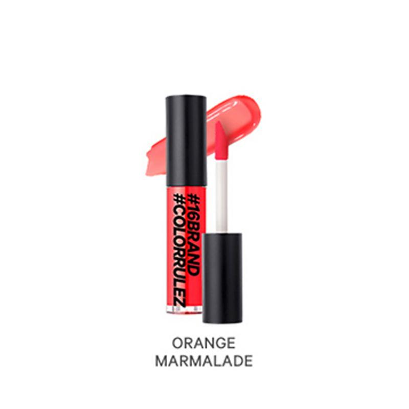 16brand Sixteen Colorrulez Glow Gloss - Orange Marmalade