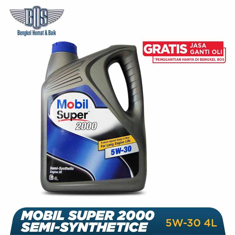 Mobil Super 2000 Oli Mobil - 5W-30 - GALON - Gratis Jasa Ganti Oli dan Check Up Kendaraan