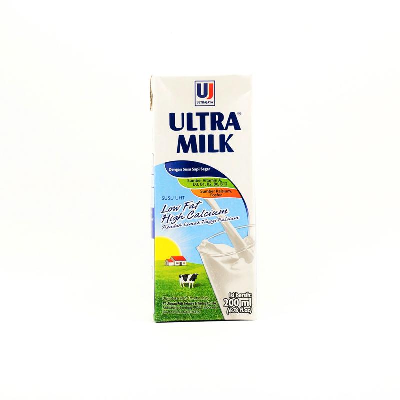 Ultra Milk Low Fat Hi-Cal Plain200 Ml