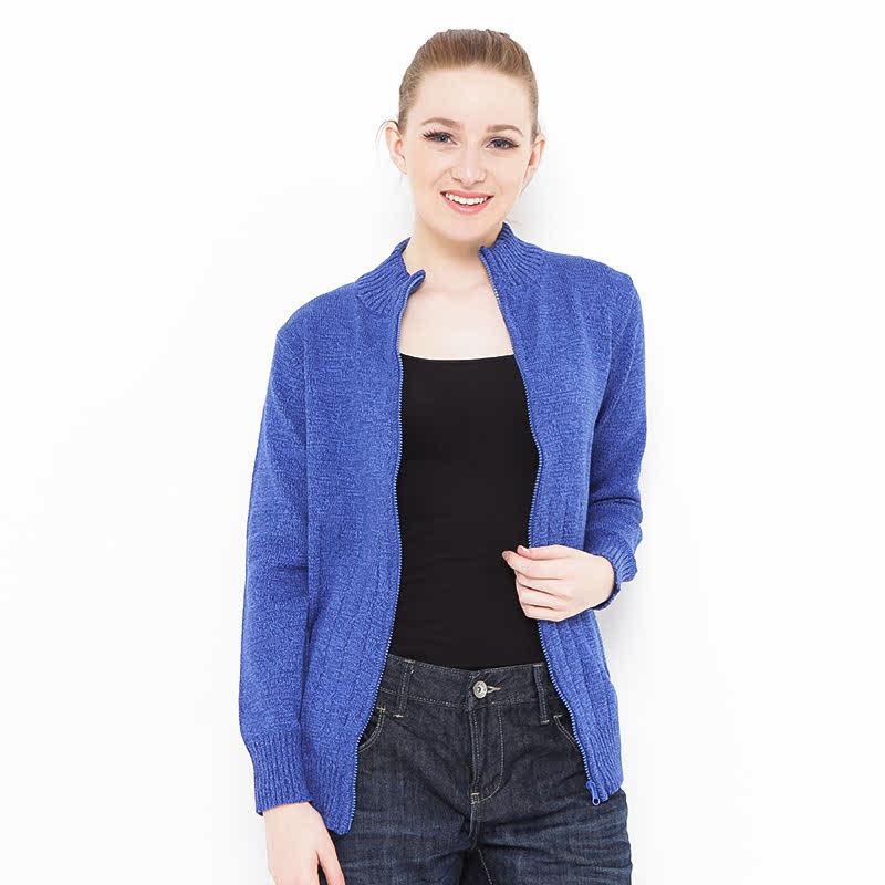Voyant by Megumi Jacket Cotton Twist Half Line Blue