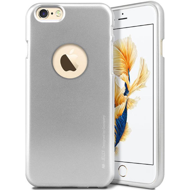 Goospery i-Jelly for iPhone 6s - Silver