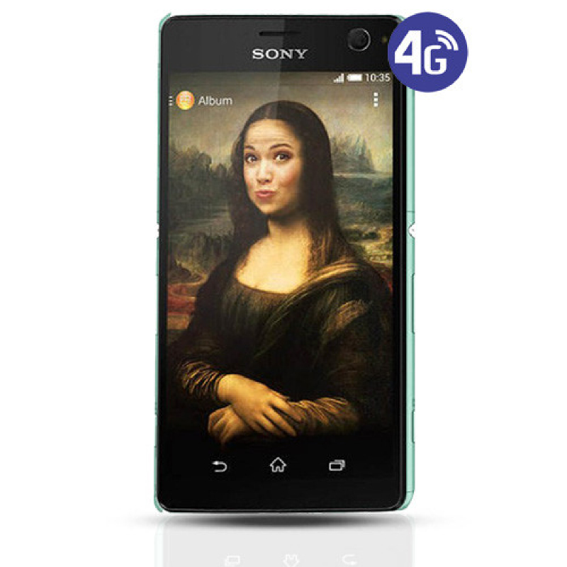 Sony Xperia C4 Smartphone - Hijau [2GB,16GB]
