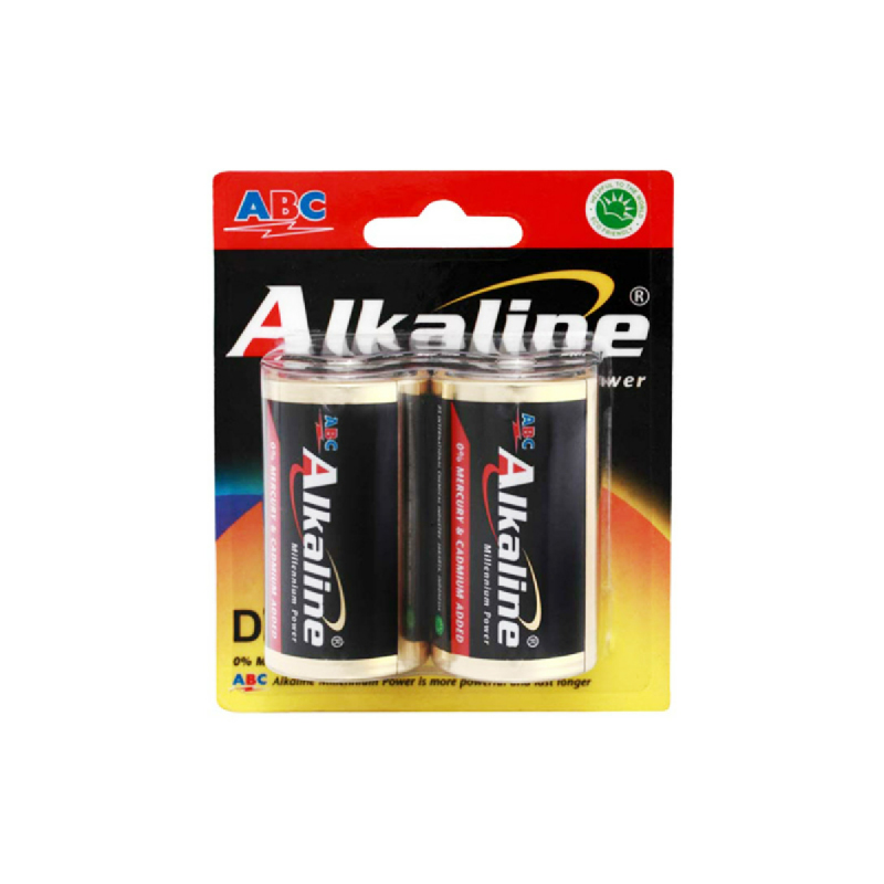 Abc Battery Alkaline Lr-20 2B Mp