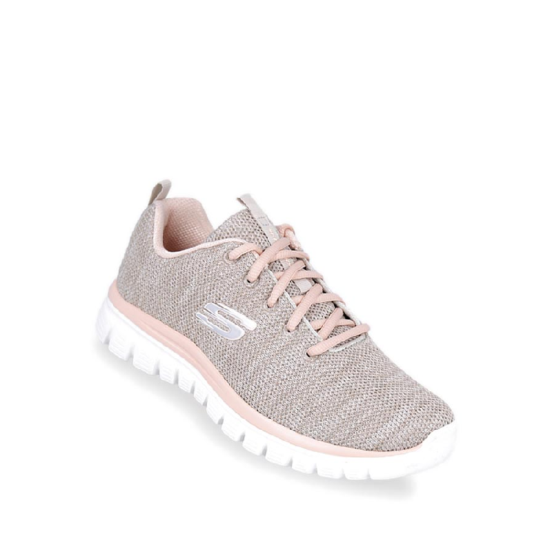 Skechers Graceful - Twisted Fortune Women Sneakers Shoes Natural
