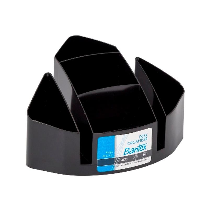 Bantex Desk Organizer Black -9830 10