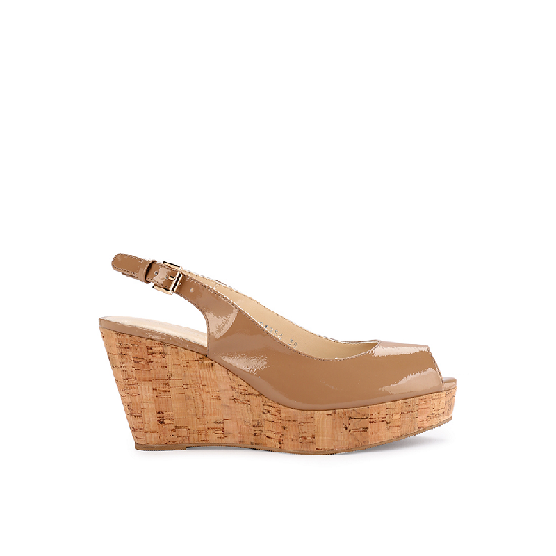 Andre Valentino Amber Wedges Mauve