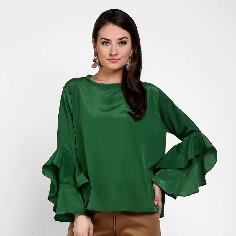Basa Celia Blouse Green