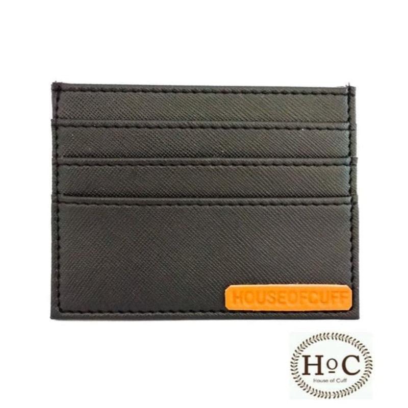 House Of Cuff Dompet Card Holder Wallet Black - Hitam