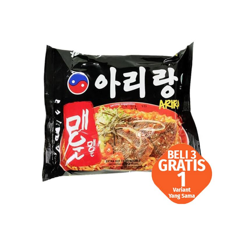 Mi Arirang Goreng Pedas 130 Gr (Buy 3 Get 1)