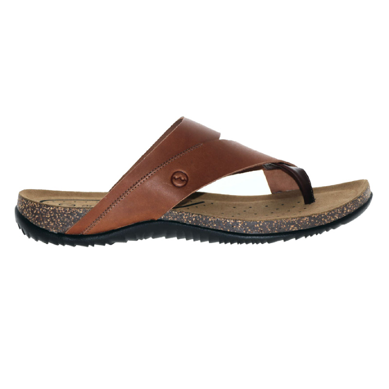 Orca Bay Mens Sandals Cross Toe Tan