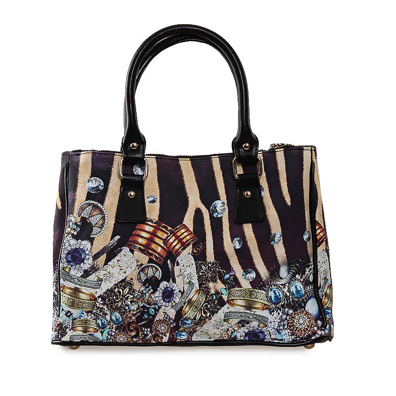 Reddington Hand Bag DB-08 Multicolor Black