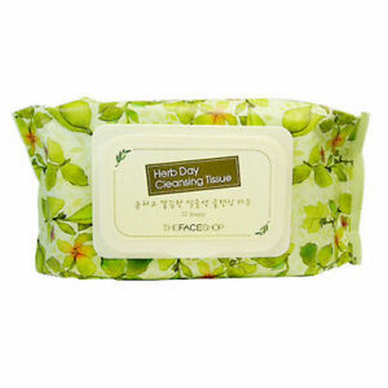 The Face Shop Herb Day Cleansing Tissue (20pcs)