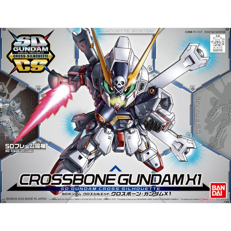 Gundam SD Cross Silhouette Crossbone X1