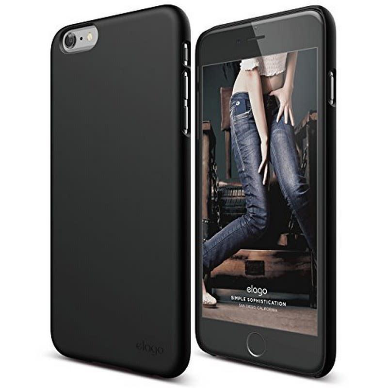 Elago Slimfit 2 Case for for iPhone 6 Plus, 6S Plus - SF Black (Matte)
