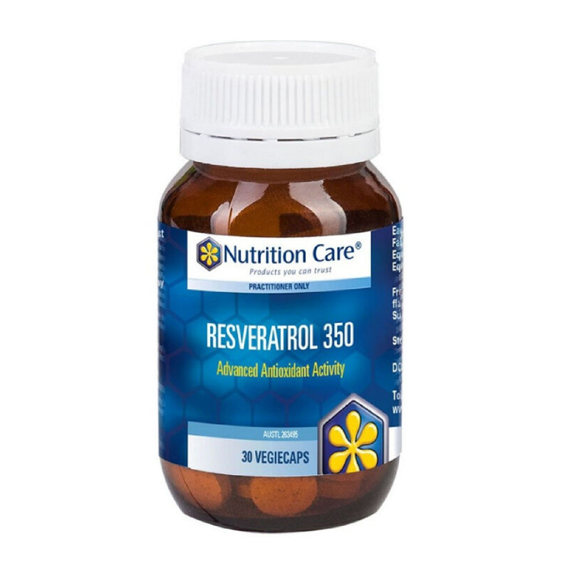 Nutrition Care Resveratrol 350mg 30 tabs