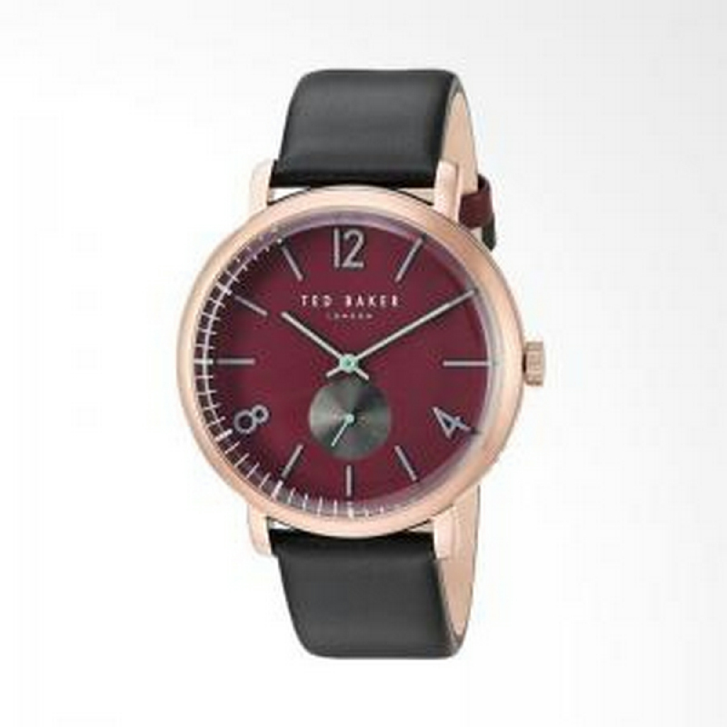 Ted Baker TE10031516 Men Watch Leather Strap Black