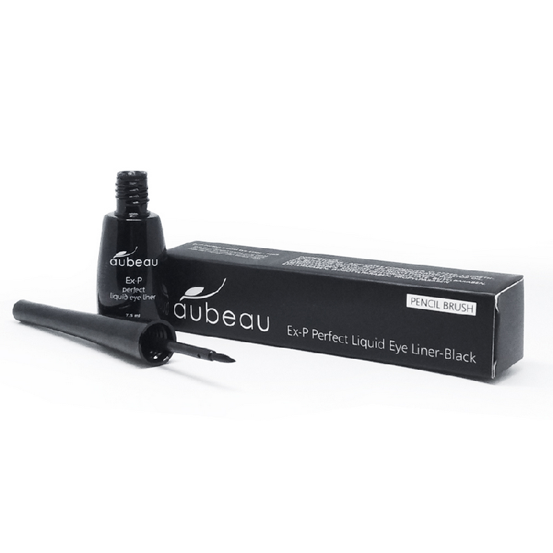 Aubeau Ex-P Perfect Liquid Eye Liner – Black 7.5 Ml