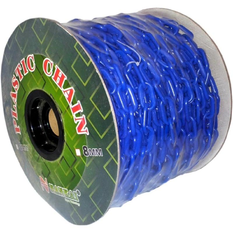 Perkakas Nankai Rantai Meteran Plastik PVC 6mm x 50m - PVC Plastic Chain