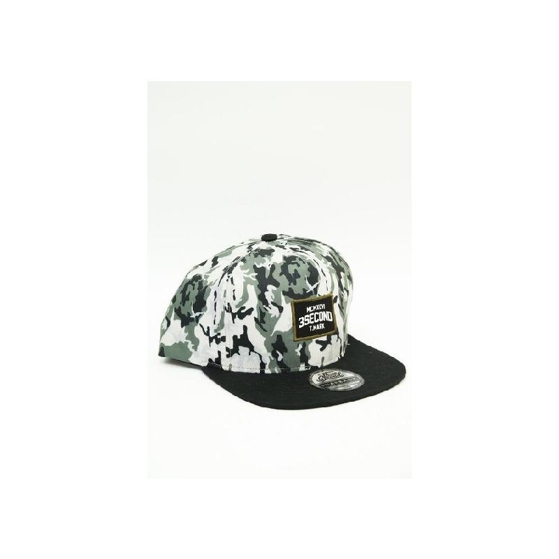 3Second Men Hat 1203 White