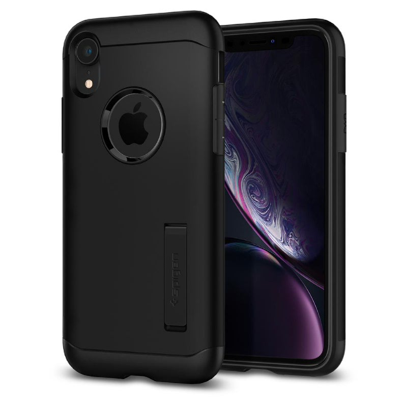 Spigen iPhone XR Case Slim Armor - Black