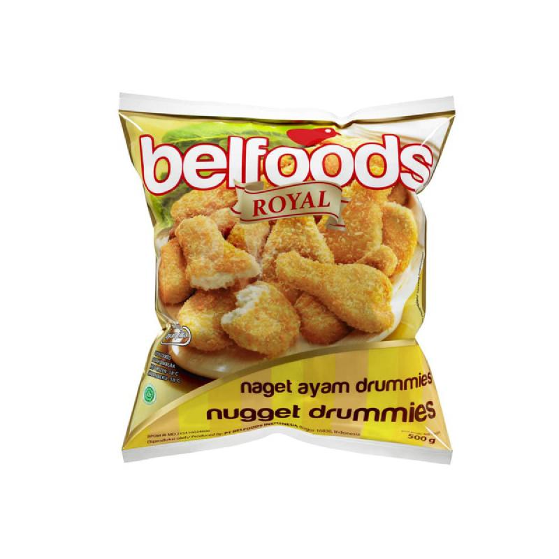 Belfoods Royal Naget Ayam Drummies 500g