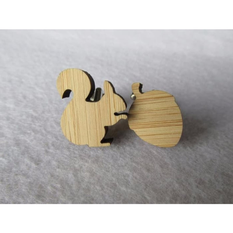 House Of Cuff Shape Wood Custom Cufflinks