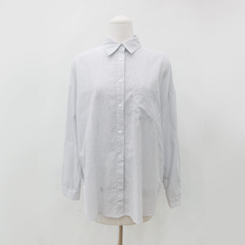 Needs Stripe Shirt (3color) Ivory