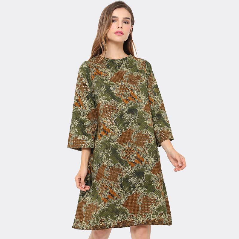 Anakara Aline Dress Kurogriny Green