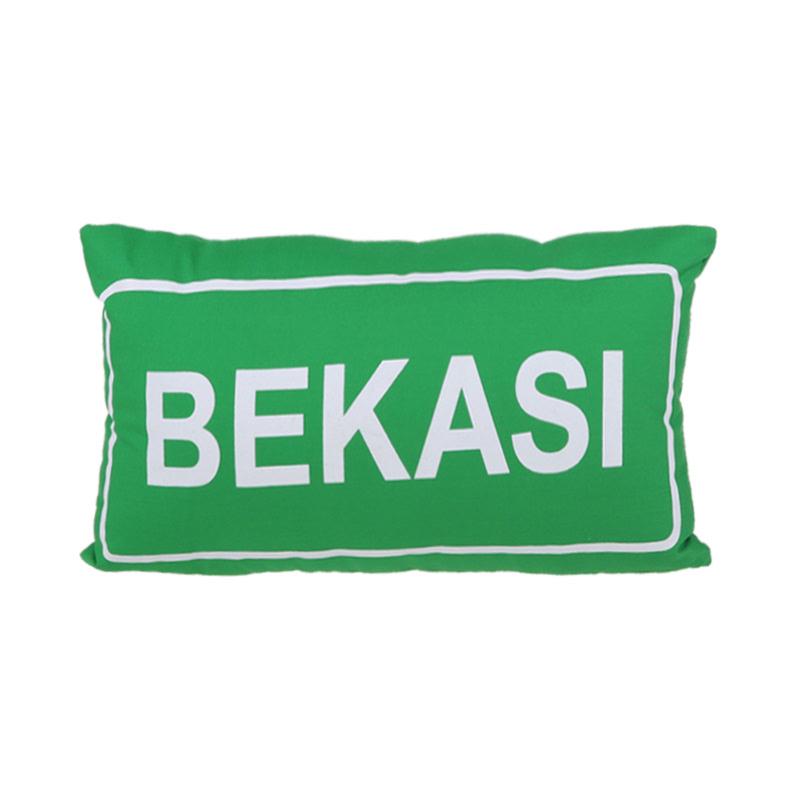 Toimoi Pillow Sign Street Bekasi Green