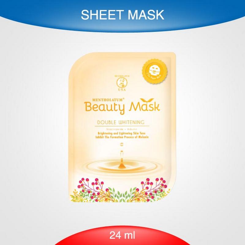 Beauty Mask Doubel Whiteningening 24 Ml