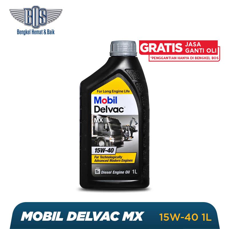Mobil Delvac MX Oli Mobil - 15W-40 - LITER - Gratis Jasa Ganti Oli dan Check Up Kendaraan
