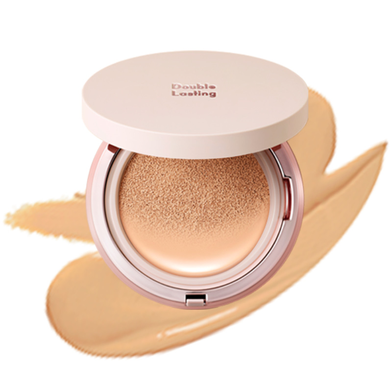 Etude House Double Lasting Cushion Glow - N23 Sand