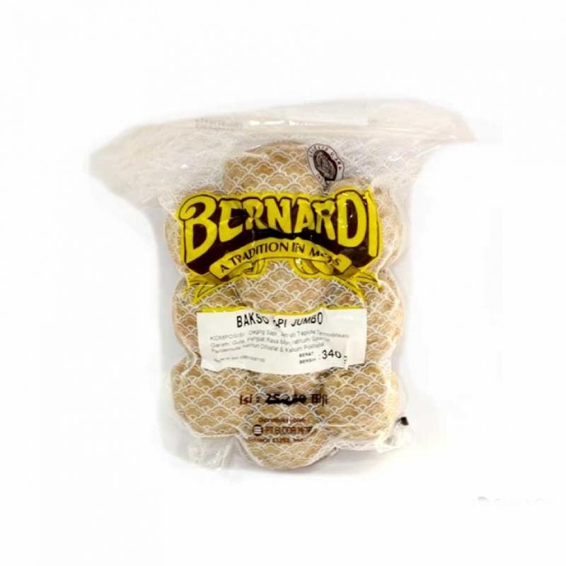 Bernardi Bakso Sapi Jumbo 340 Gr isi 10 Pcs