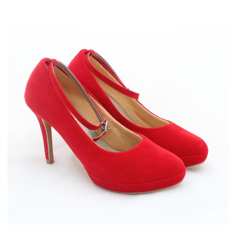 Alivelovearts Heels Flux Red