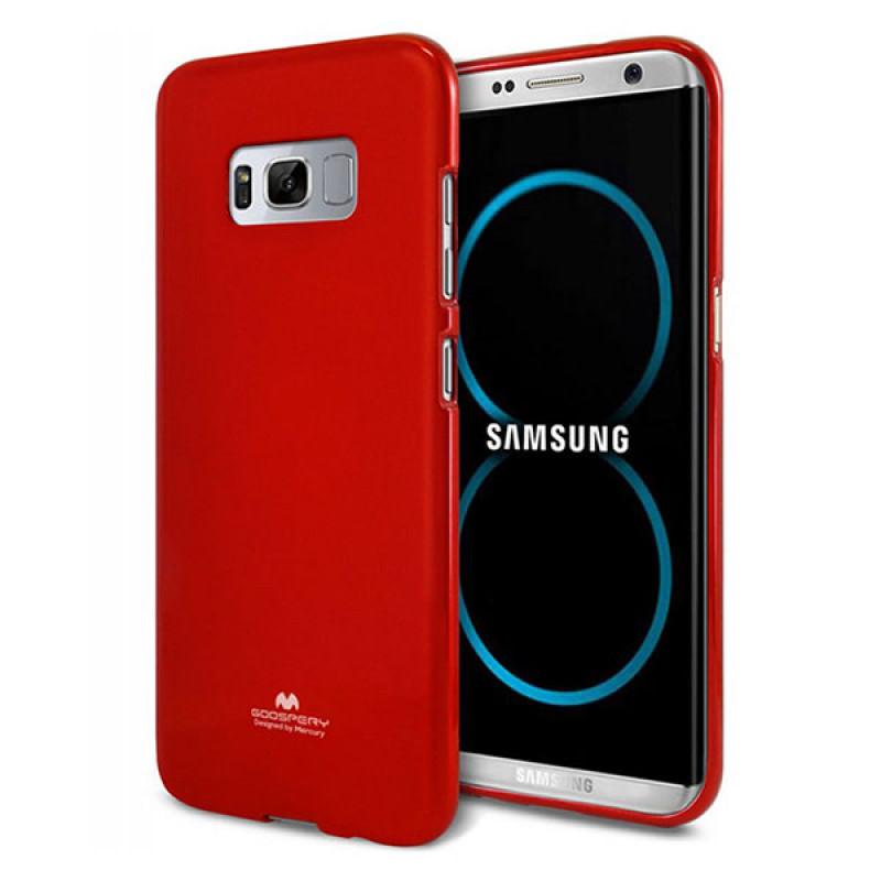 Goospery Jelly Case Samsung Galaxy S8+ Merah