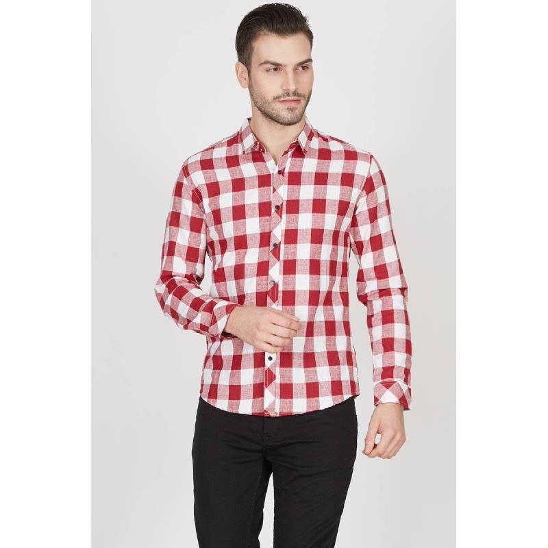 Men Quinton Shirt Red